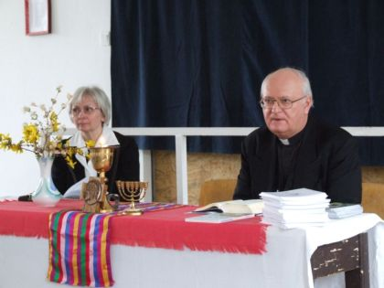 Rev. Lajos Békefy and his wife Rev. Claudia Roehrig-Békefy