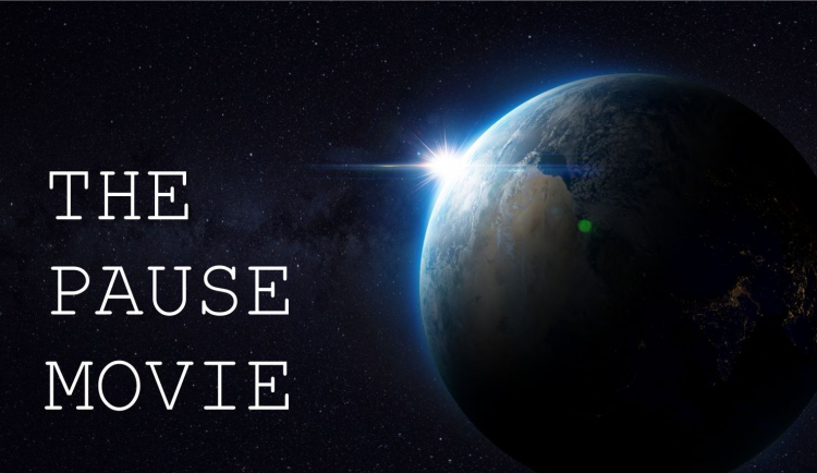"""The poster of """"The Pause Movie"""""""
