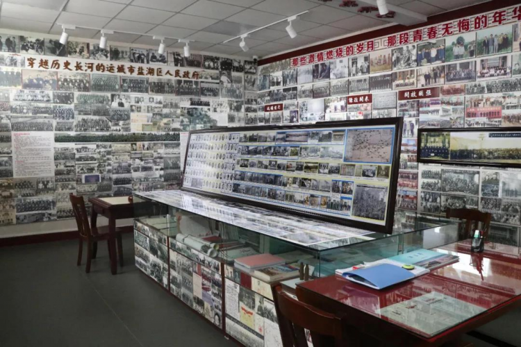 The exhibition of Yanhu Stories by the government in Yanhu District, Yuncheng, Shanxi