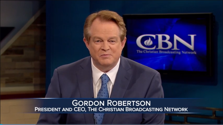 Mr. Gordon Robertson, President and CEO of CBN News, addressed the participants at the fourth Christian Media Summit on October 18, 2020.