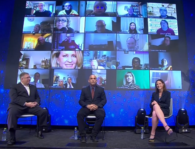 "A panel on the topic ""Israel in the Midst of COVID, Media Bias & Peace Deals"" was held virtually at the fourth Christian Media Summit on October 18, 2020."