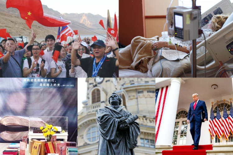 Nos. 6-10 of China Christian Daily's top 10 news stories of 2020