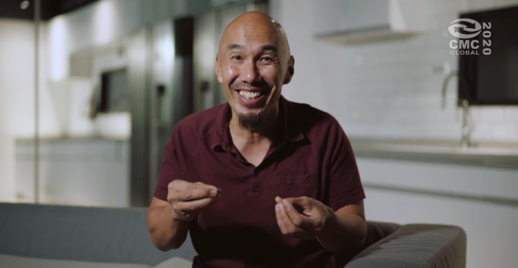 """Rev. Francis Chan, founder of Crazylove Ministries, preached a sermon entitled """"Trust and Obey"""" virtually in the joint closing ceremony of the the Chinese Mission Convention on December 31, 2020."""