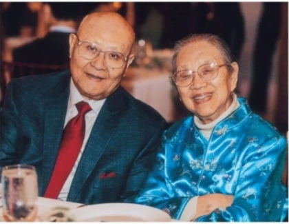 Rev. Jack K. Chow, and his wife Nancy