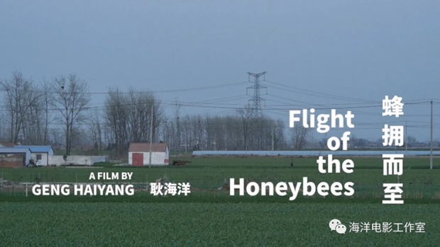 "The cover of ""Flight of the Honeybees"", the 95-minute autobiographical documentary of Christian director Geng Haiyang"