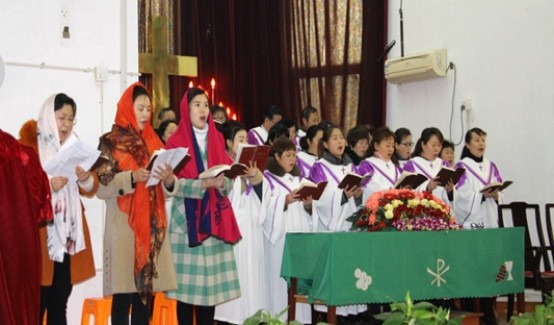 Kunshan Church of Jiangsu held a World Day of Prayer service on March 1, 2019.