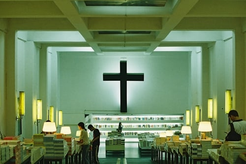 A Christian Library.
