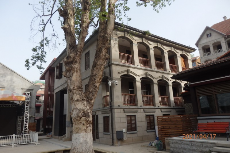 The former site of the Swedish parish relic in Wuchang District, Wuhan, Hubei Province