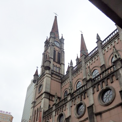 Our Lady of the Assumption Cathedral in Ningbo, Zhejiang Province