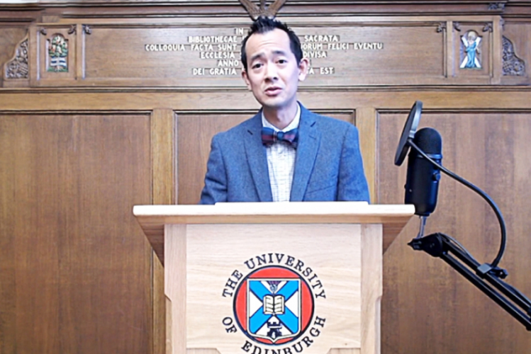 Dr. Alexander Chow gave a lecture in the opening session of the annual meeting of the Yale-Edinburgh Group on World Christianity and the History of Mission on June 22, 2021.
