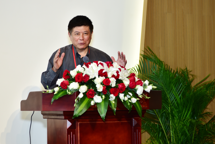 """Professor Zhang Zhigang from Peking University delivered an online lecture themed """"The Localization Issue of Christianity: From a World Christianity History Perspective"""" on September 22, 2021."""