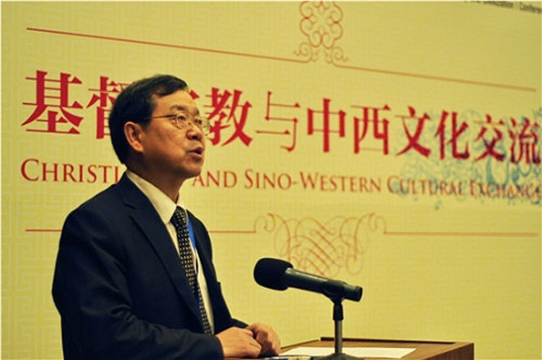 Zhuo Xinping, president of the Chinese Religious Society