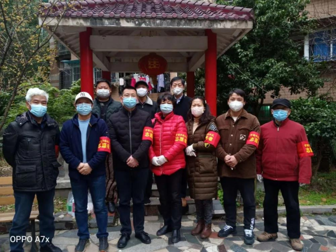 Members of Changsha Changbei Church worked as volunteers for their communities in February 2020.