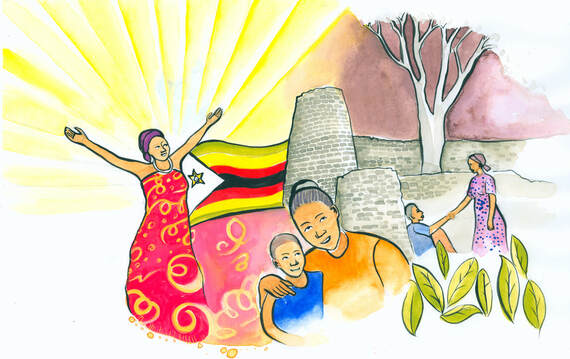 "The international event, this year hosted by Zimbabwe, features the theme ""Rise! Take Your Mat and Walk""."