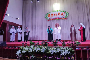 Shanxi Linfen Church hosted a thanksgiving praise and worship concert on this year's Easter, April 21, 2019.