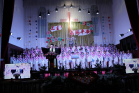 The Yaodu District Church in Linfen City, Shanxi Province hosted this year's first Christmas & Thanksgiving worship service on December 24, 2020.